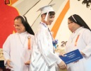 Brent's High School Graduation and Chuck Lidell