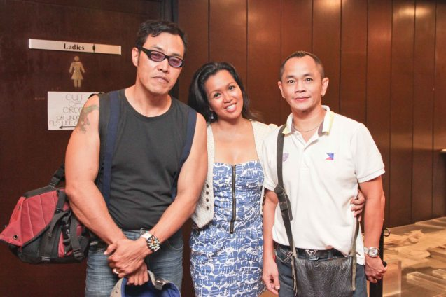 From left: Bernard Laxa, Marife Necesito and Gary Lim during Cinemalaya auditions held last January 20. The actual fest will run from July 26 to August 4, 2013 and will screen films not just at the CCP but also in Greenbelt and TRINOMA malls. Photo by Jude Bautista