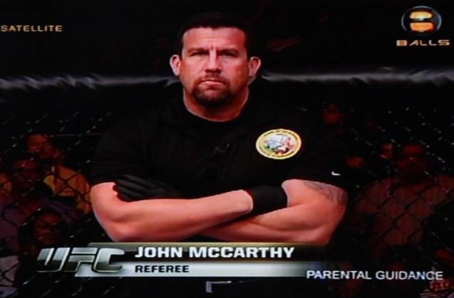 The quickness and reaction of referee Big John McCarthy may have saved Liz Carmouche's arm from permanent damage.