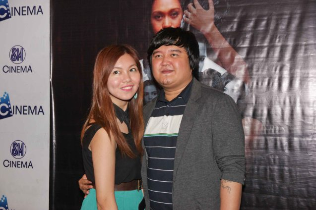 Therese Dehesa and Ian Del Carmen. BAD ROMANCE is out in theaters starting April 10, 2013. Photo By Jude Bautista