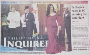 Click on pic for link to inquirer.net page 1