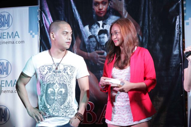 Archie Alemania (Peping Causo Jr) and Mercedes Cabral (Andrea Maglalang). BAD ROMANCE is out in theaters starting April 10, 2013. Photo By Jude Bautista