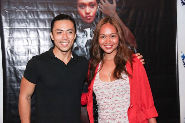 Lance Raymundo and Mercedes Cabral. BAD ROMANCE is out in theaters starting April 10, 2013. Photo By Jude Bautista