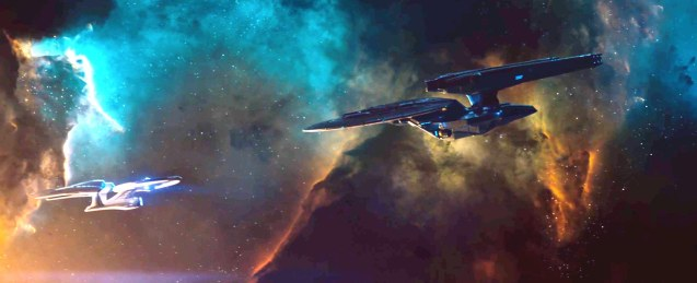 The USS Vengeance is twice as big and thrice as fast as the Enterprise. Catch Star Trek Into Darkness in Newport Cinemas-Resort's World Manila, EASTWOOD City Mall, Lucky China Town Mall and Shang Rila Plaza mall.