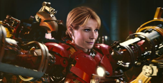 Pepper potts suit iron man 3