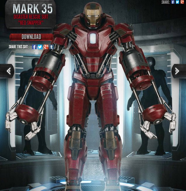 Mark XXXV (35): CODE NAME-Red Snapper, Catch IRON MAN3 at Newport Cinemas in Resort's World, EASTWOOD City Mall, Lucky China Town Mall and Shang Rila Plaza mall