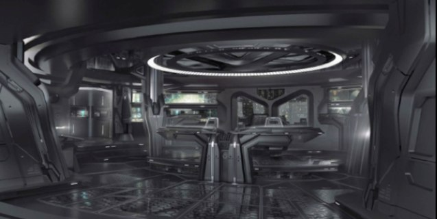 USS Vengeance bridge as depicted by production designer Scott Chambliss. Catch Star Trek Into Darkness in Newport Cinemas-Resort's World Manila, EASTWOOD City Mall, Lucky China Town Mall and Shang Rila Plaza mall. For more Star Trek Into Darkness art click on pic for Scott Chambliss blog.