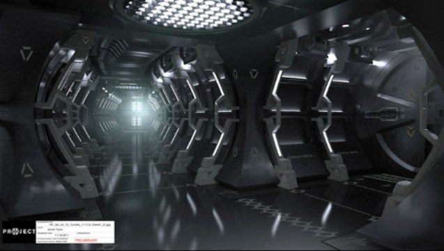 USS Vengeance passageway as depicted by production designer Scott Chambliss. Catch Star Trek Into Darkness in Newport Cinemas-Resort's World Manila, EASTWOOD City Mall, Lucky China Town Mall and Shang Rila Plaza mall. For more Star Trek Into Darkness art click on pic for Scott Chambliss blog.
