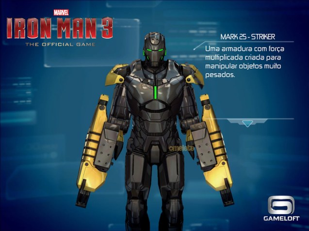 Mark XXV (25): CODE NAME-Striker, Catch IRON MAN3 at Newport Cinemas in Resort's World, EASTWOOD City Mall, Lucky China Town Mall and Shang Rila Plaza mall