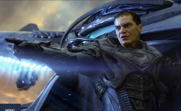 General Zod (Michael Shannon) is in armor even in Krypton. Catch MAN OF STEEL in Newport Cinemas-Resort's World Manila, EASTWOOD City Mall, Lucky China Town Mall and Shang Rila Plaza mall.