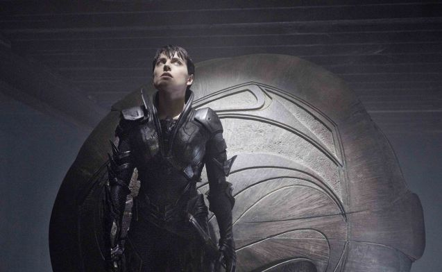 Faora Ul (Antje Traue) in Kryptonian battle armor. Catch MAN OF STEEL in Newport Cinemas-Resort's World Manila, EASTWOOD City Mall, Lucky China Town Mall and Shang Rila Plaza mall.