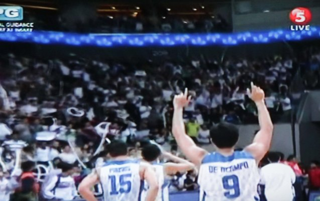 Team SMART Gilas Pilipinas showed unity, teamwork and heart to defeat a healthier South Korean squad 86-79. The win earns them a slot at the 2014 FIBA Basketball World Cup in Spain.  Watch SMART Gila vs IRAN tonight at the MOA Arena tonight or on TV5 at 830pm.