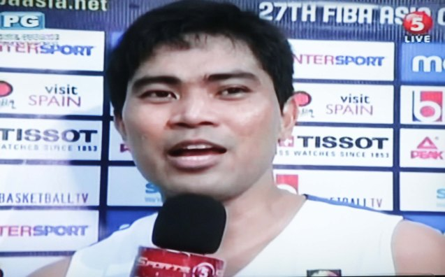 Ranidel De Ocampo took his game to a higher level after Douthit's injury. Watch SMART Gila vs IRAN tonight at the MOA Arena tonight or on TV5 at 830pm.