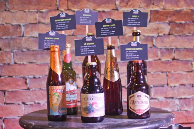 These are just a few of the 150 varieties of beers at the Megaworld Lifestyle Malls' Beer Festival running from September 27 to October 25, 2013. Photo by Jude Bautista