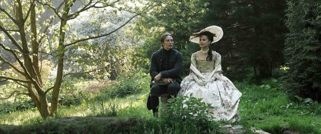It was a meeting of the minds between Dr. Johann Friedrich Struensee (Mads Mikkelsen) and Queen Caroline Mathilde (Alicia Vikander) in A ROYAL AFFAIR. Catch European films for free during Cine Europa at Shang Cineplex, Shangri-La Plaza mall from Sept 5-14, 2013.