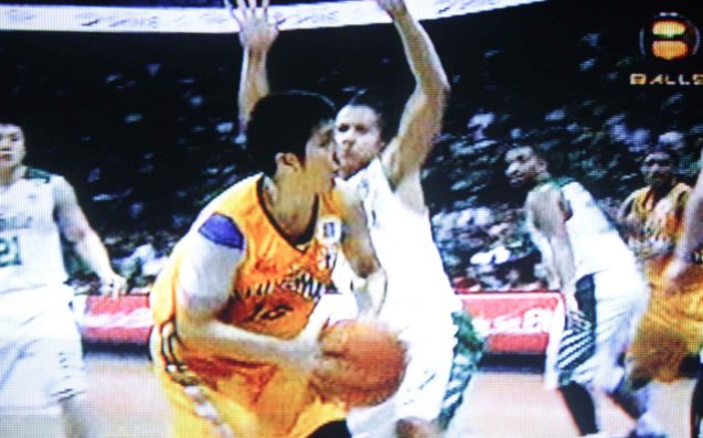 UST's Jeric Teng had 24points in his last UAAP game