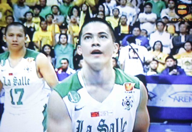 Alfonso Revilla's free throw pushed the DLSU lead permanently 71-69.