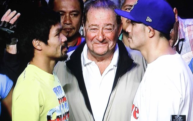 Top Rank's Bob Arum made a great match in Pacquiao Rios.
