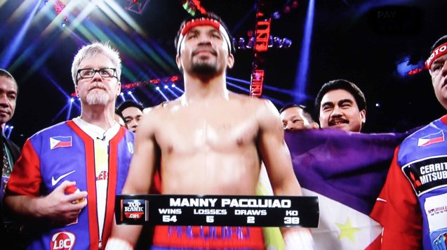 Its not just Filipinos but the whole of Asia who is proud of Manny Pacquiao.