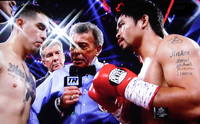 Pacquiao was the biggest fight of Rios' career.