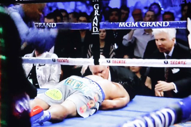 Pacquiao lies face down in fight against Marquez. THE BIR is a more wrathful opponent than the tough Mexican.