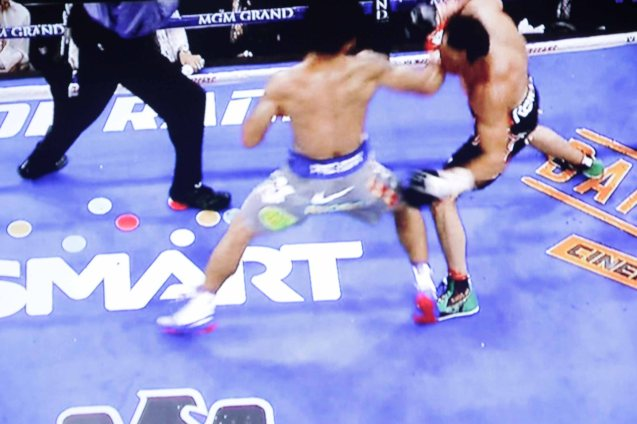 Late 2012, Pacquiao was winning the fight until Juan Manuel Marquez landed a deadly right hand that sent our champion to the canvas. THE BIR is a more wrathful opponent than the tough Mexican.