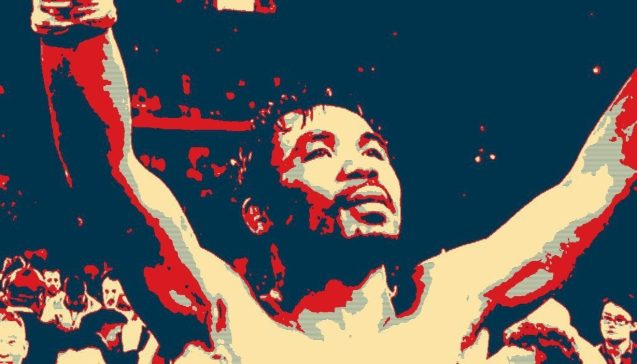 Manny Pacquiao rose from the mire of poverty to become the greatest of all time. His story is one that gives hope. Photo Illustration by Jude Bautista