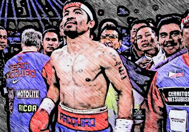 Team Pacquiao has a new secret weapon, read article to find out. Photo Illustration by Jude Bautista