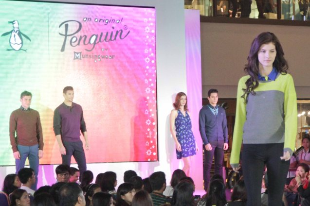 The Original Penguin at the Fashion Rhapsody 2013: The Shang Holiday Fashion Show, Grand Atrium of Shangri La Plaza Mall last Nov. 23, 2013. Photo by Jude Bautista
