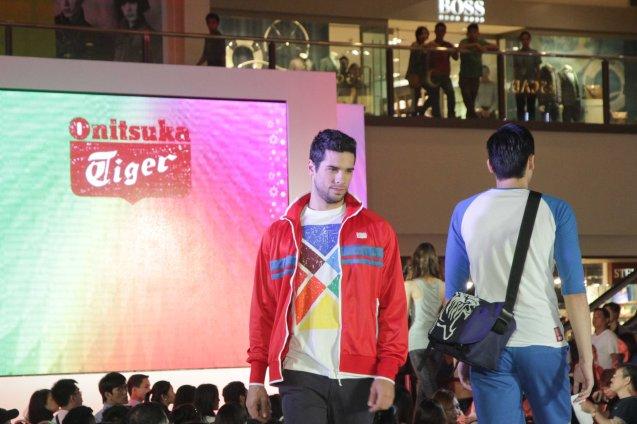 Onitsuka Tiger at the Fashion Rhapsody 2013: The Shang Holiday Fashion Show, Grand Atrium of Shangri La Plaza Mall last Nov. 23, 2013. Photo by Jude Bautista