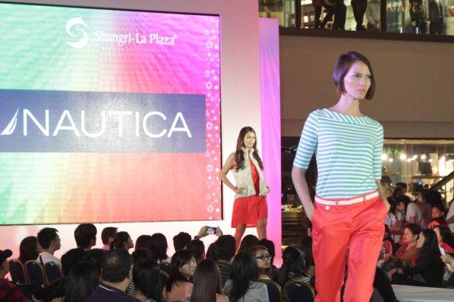 NAUTICA at the Fashion Rhapsody 2013: The Shang Holiday Fashion Show, Grand Atrium of Shangri La Plaza Mall last Nov. 23, 2013. Photo by Jude Bautista