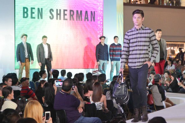 BEN SHERMAN at the Fashion Rhapsody 2013: The Shang Holiday Fashion Show, Grand Atrium of Shangri La Plaza Mall last Nov. 23, 2013. Photo by Jude Bautista