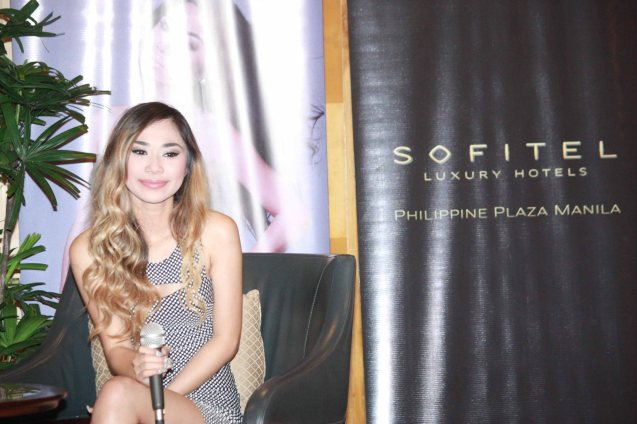 Jessica has a sweet smile that has won many fans over apart from her spectacular singing voice. Press con was held at SOFITEL Phil Plaza Dec. 9, 2013. Jessica will also have a New Years concert at Eastwood Mall. Photo by Jude Bautista