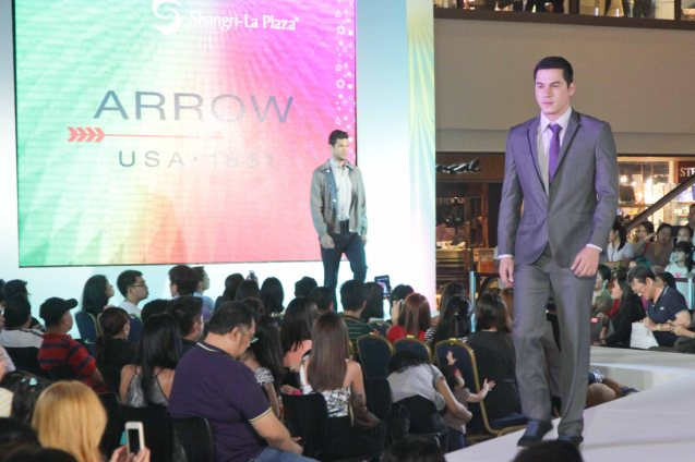ARROW at the Fashion Rhapsody 2013: The Shang Holiday Fashion Show, Grand Atrium of Shangri La Plaza Mall last Nov. 23, 2013. Photo by Jude Bautista