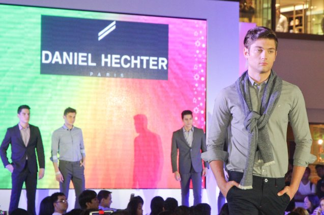 DANIEL HECHTER at the Fashion Rhapsody 2013: The Shang Holiday Fashion Show, Grand Atrium of Shangri La Plaza Mall last Nov. 23, 2013. Photo by Jude Bautista