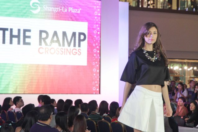 THE RAMP at the Fashion Rhapsody 2013: The Shang Holiday Fashion Show, Grand Atrium of Shangri La Plaza Mall last Nov. 23, 2013. Photo by Jude Bautista