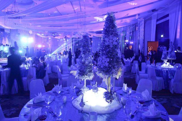 It was a winter wonderland during the SHANGRI LA PLAZA Retailer's Ball, EDSA Shangri-La Hotel Ballroom last December 12, 2013. Photo by Jude Bautista