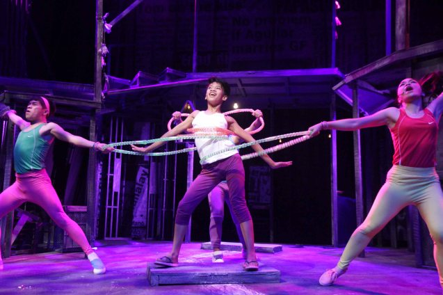 Maxie's many dance sequences. Catch MAXIE THE MUSICAL at from Nov 9-Dec 8, 2013 at the PETA Theater Center. Photo By Jude Bautista