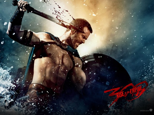 Sullivan Stapleton plays Themistokles. Photo from official website: http://www.300themovie.com/ 300 RISE OF AN EMPIRE opens on March 7, 2014 at Resort's World Manila, Lucky Chinatown Mall, Shang Rila Cineplex /East Wing and Eastwood Mall running now.