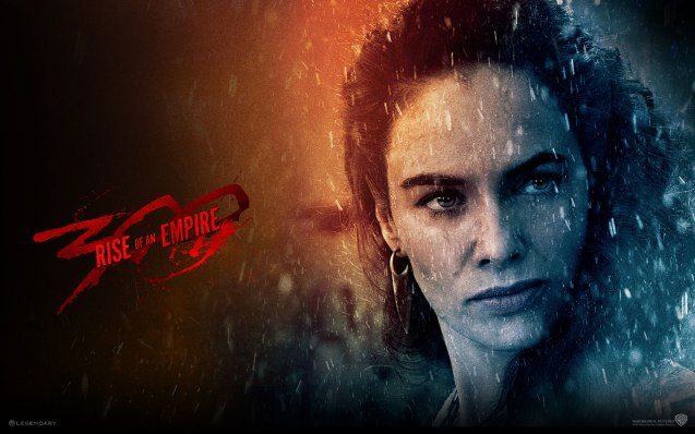 Queen Gorgo (Lena Hedaley): Shall I put swords in the hands of my sons and children will that please you? Photo from official website: http://www.300themovie.com/ 300 RISE OF AN EMPIRE opens on March 7, 2014 at Resort's World Manila, Lucky Chinatown Mall, Shang Rila Cineplex /East Wing and Eastwood Mall running now.