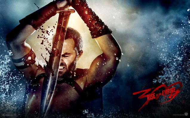 """Themistokles (Sullivan Stapleton): Let it be shown that we chose to die on our feet rather than live on our knees!"""" Photo from official website: http://www.300themovie.com/ 300 RISE OF AN EMPIRE opens on March 7, 2014 at Resort's World Manila, Lucky Chinatown Mall, Shang Rila Cineplex /East Wing and Eastwood Mall running now."""