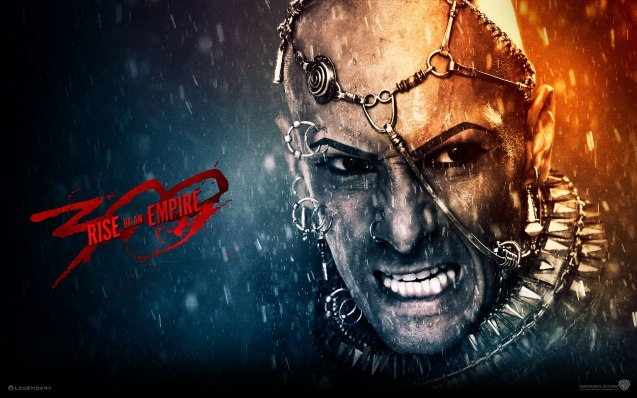 Rodrigo Santoro is god king Xerxes. Photo from official website: http://www.300themovie.com/ 300 RISE OF AN EMPIRE opens on March 7, 2014 at Resort's World Manila, Lucky Chinatown Mall, Shang Rila Cineplex /East Wing and Eastwood Mall running now