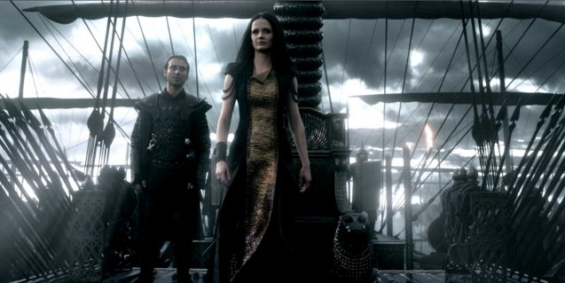 Artemisia (Eva Green) with –left General Artaphernes (Ben Turner). Photo from official website: http://www.300themovie.com/ 300 RISE OF AN EMPIRE opens on March 7, 2014 at Resort's World Manila, Lucky Chinatown Mall, Shang Rila Cineplex /East Wing and Eastwood Mall running now.