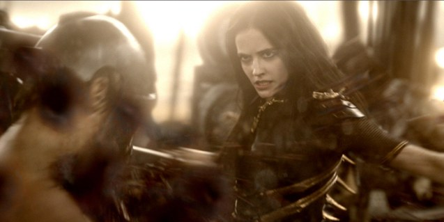 Artemisia (Eva Green): Today we will dance across the backs of dead Greeks! Photo from official website: http://www.300themovie.com/ 300 RISE OF AN EMPIRE opens on March 7, 2014 at Resort's World Manila, Lucky Chinatown Mall, Shang Rila Cineplex /East Wing and Eastwood Mall running now.