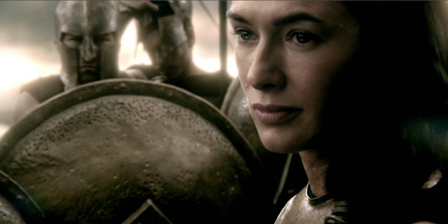 Queen Gorgo (Lena Hedaley): Have I not given enough for your ambitions Themistokles? Our King, husbands, brothers, Sparta will give no more. Photo from official website: http://www.300themovie.com/ 300 RISE OF AN EMPIRE opens on March 7, 2014 at Resort's World Manila, Lucky Chinatown Mall, Shang Rila Cineplex /East Wing and Eastwood Mall running now.