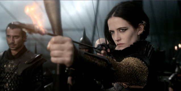 Eva Green is femme fatale Artemisia. Photo from official website: http://www.300themovie.com/ 300 RISE OF AN EMPIRE opens on March 7, 2014 at Resort's World Manila, Lucky Chinatown Mall, Shang Rila Cineplex /East Wing and Eastwood Mall running now.