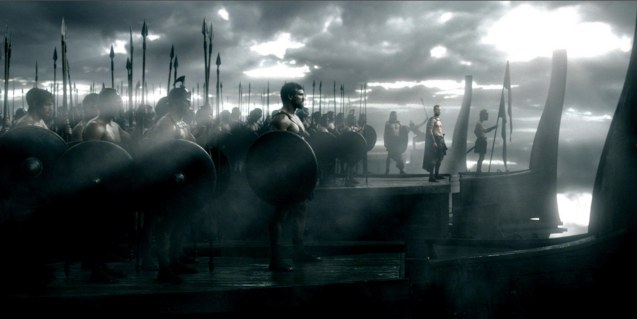 Greek warriors prepare to board Persian ship. Photo from official website: http://www.300themovie.com/ 300 RISE OF AN EMPIRE opens on March 7, 2014 at Resort's World Manila, Lucky Chinatown Mall, Shang Rila Cineplex /East Wing and Eastwood Mall running now.