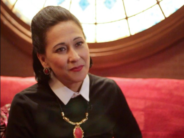 Cherie Gil is photographed in Salon De Ning, The Peninsula Manila. Cherie plays style doyenne Diana Vreeland in FULL GALLOP by MY OWN MANN Prod. running from March 14-23, 2014 at the Carlos P Romulo Auditorium, RCBC Plaza. Photo by Jude Bautista
