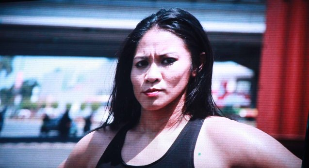 Ana Julaton trained in martial arts as a kid, but only fought professionally as a boxer. The historic fight was during ONE FC: Rise of Heroes at the Mall of Asia Arena last May 2, 2014