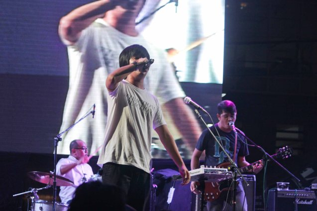 PEDICAB revved up A Venue main stage. Fete Dela Musique 2014 had 200 acts in more than 20 different locations last June 21, 2014. Photo by Jude Bautista